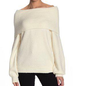 Free People Echo Beach Cowl Neck Sweater